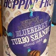hoppin'FrogBrewery_bourbonBarrelAgedBlueberryTurboShandy