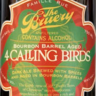 theBruery_bourbonBarrelAged4CallingBirds