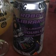 odd13Brewing_robotLibrarian