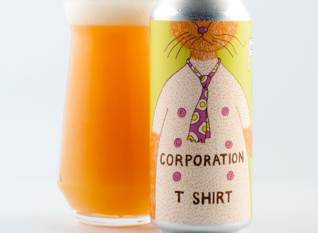 fatOrangeCatBrewCo._corporationT-Shirt
