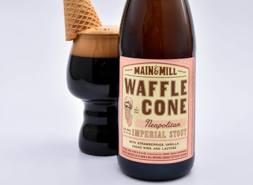 main&MillBrewingCompany_waffleConeNeapolitan