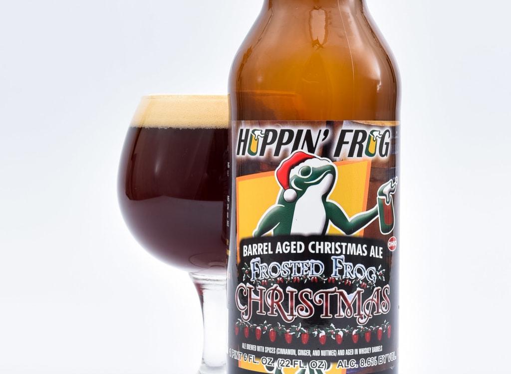 hoppin'FrogBrewery_barrel-AgedFrostedFrogChristmasAle(2020)