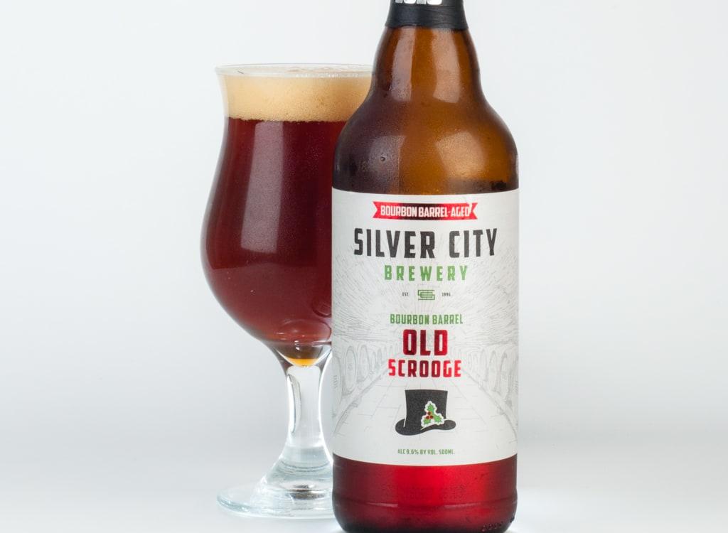 silverCityBrewery_bourbonBarrelAgedOldScroogeChristmasAle