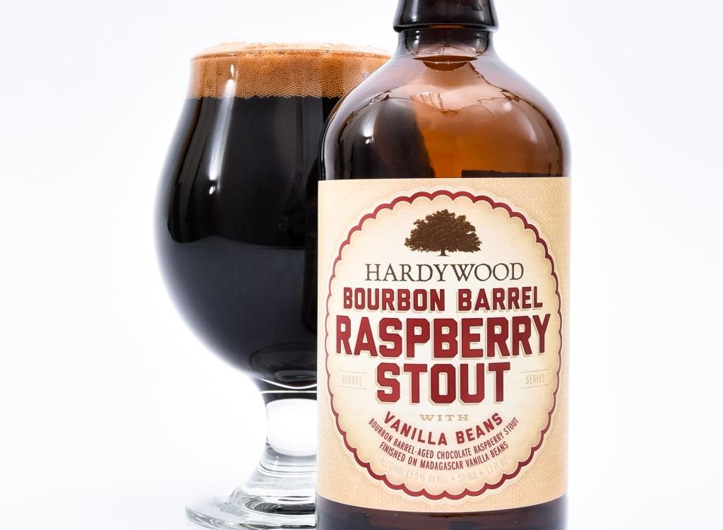 hardywoodParkCraftBrewery_bourbonBarrelRaspberryStoutWithVanillaBeans(2020)