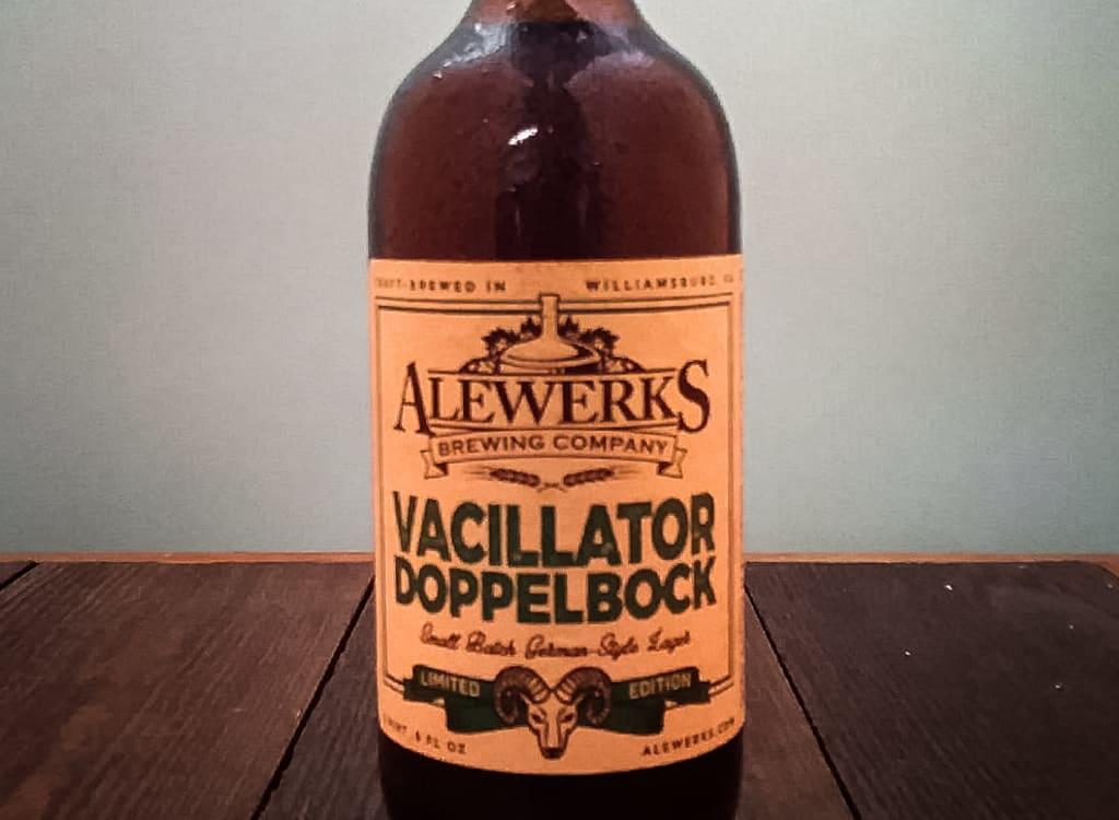alewerksBrewingCompany_vacillatorDoppelbock