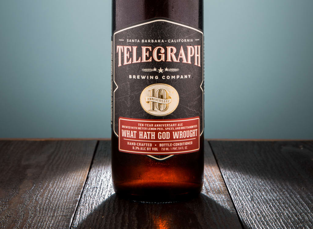telegraphBrewingCompany_10thAnniversaryAle:WhatHathGodWrought