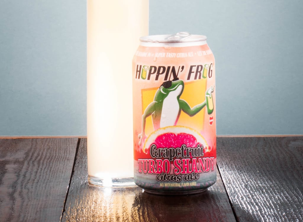 hoppin'FrogBrewery_grapefruitTurboShandyCitrusAle