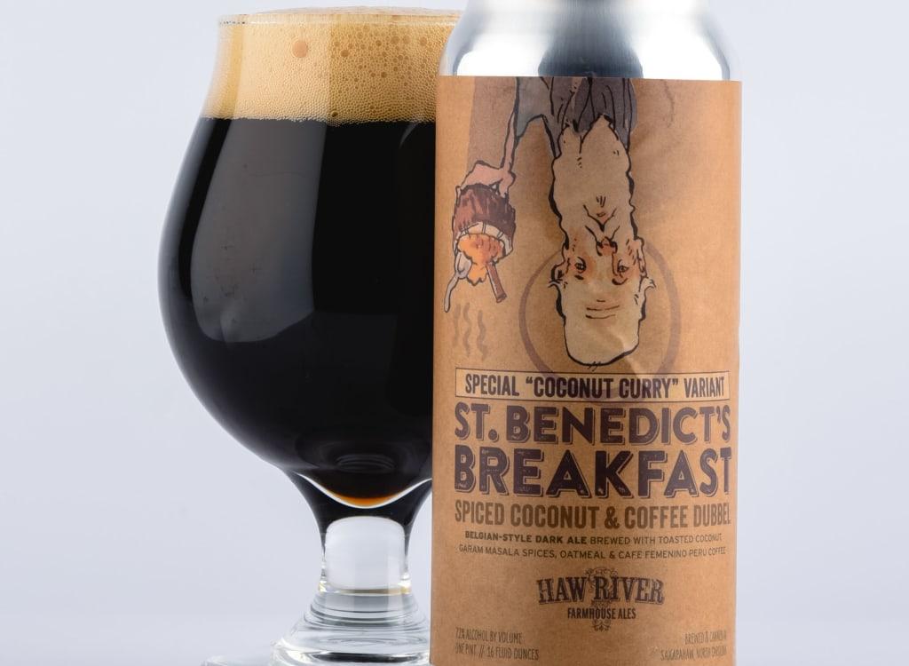 "hawRiverFarmhouseAles_""CoconutCurry""St.Benedict'sBreakfast"