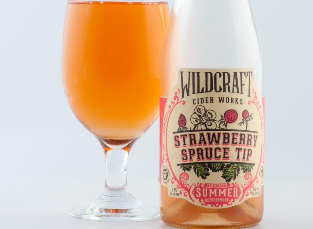 wildCraftCiderWorks_strawberrySpruceTip