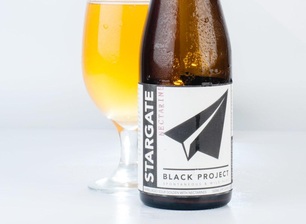blackProjectSpontaneous&WildAles_sTARGATE:PeachRye NectarineBourbon
