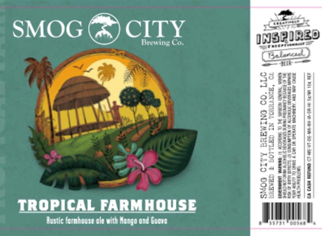 smogCityBrewing_tropicalFarmhouse(2021)