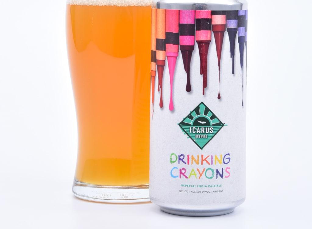 icarusBrewing_drinkingCrayons