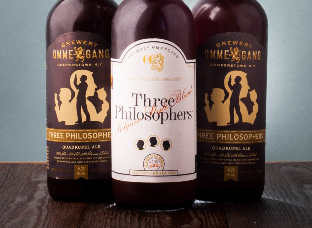 breweryOmmegang_threePhilosophers2011,2012,2013Vertical