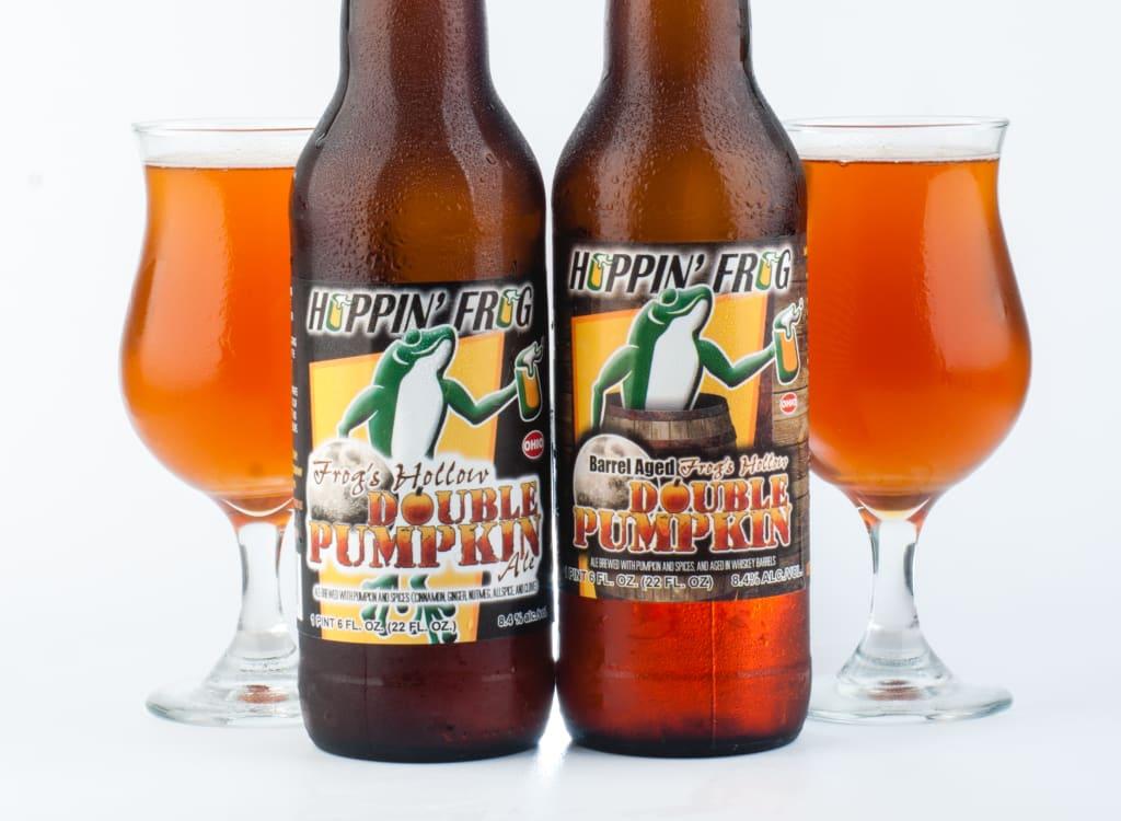 hoppin'FrogBrewery_barrel-AgedFrog'sHollowDoublePumpkinAle