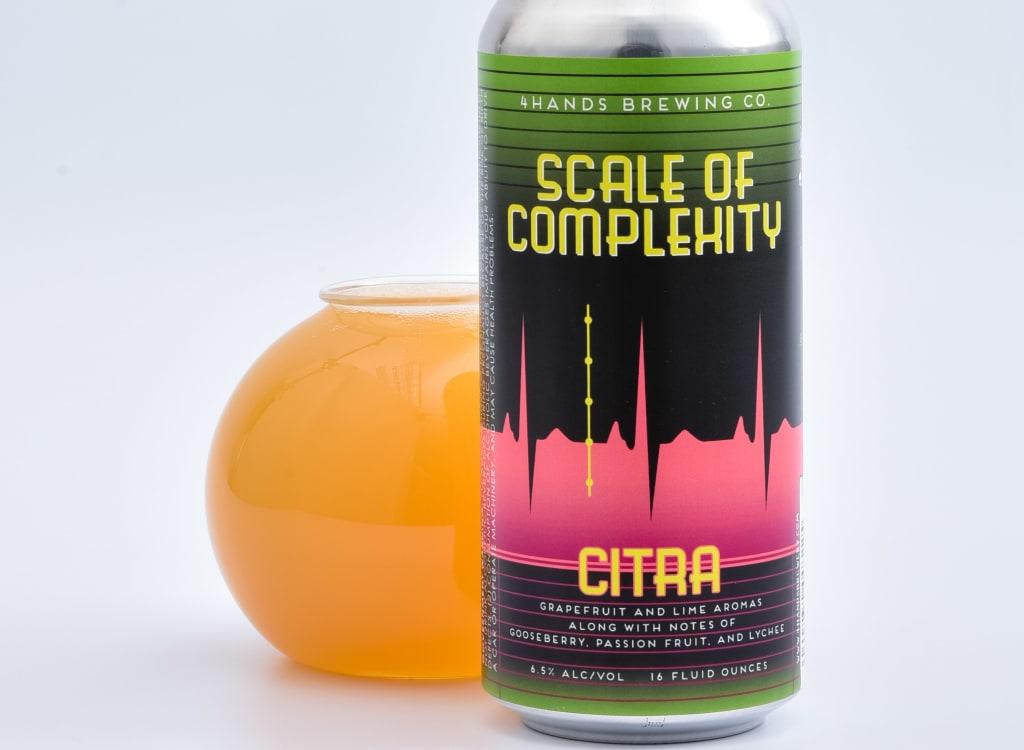 4HandsBrewingCompany_scaleofComplexity-CitraHop