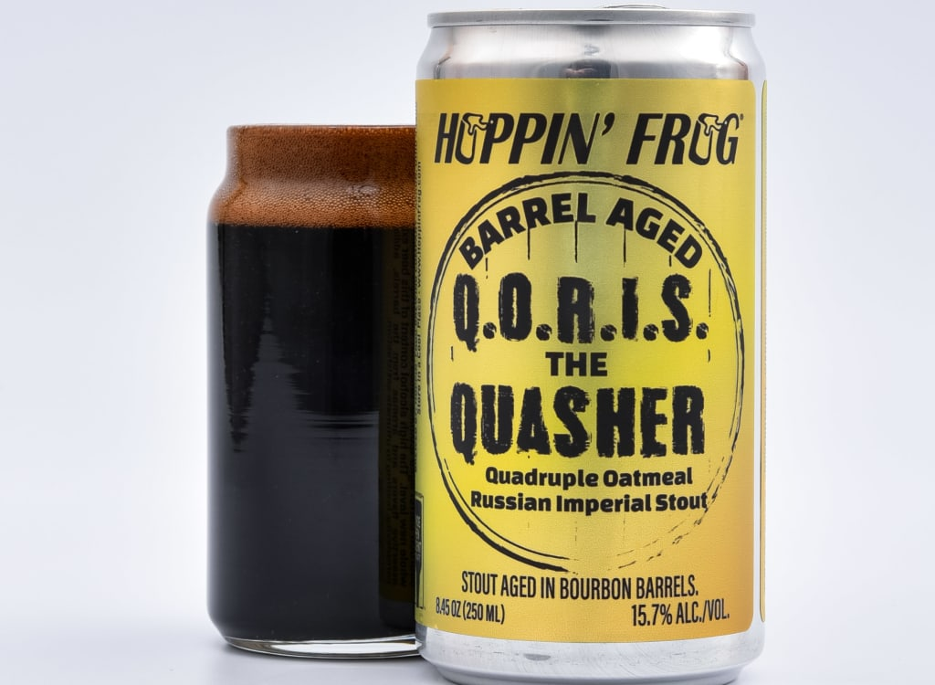 hoppin'FrogBrewery_barrel-AgedQ.O.R.I.S.TheQuasher