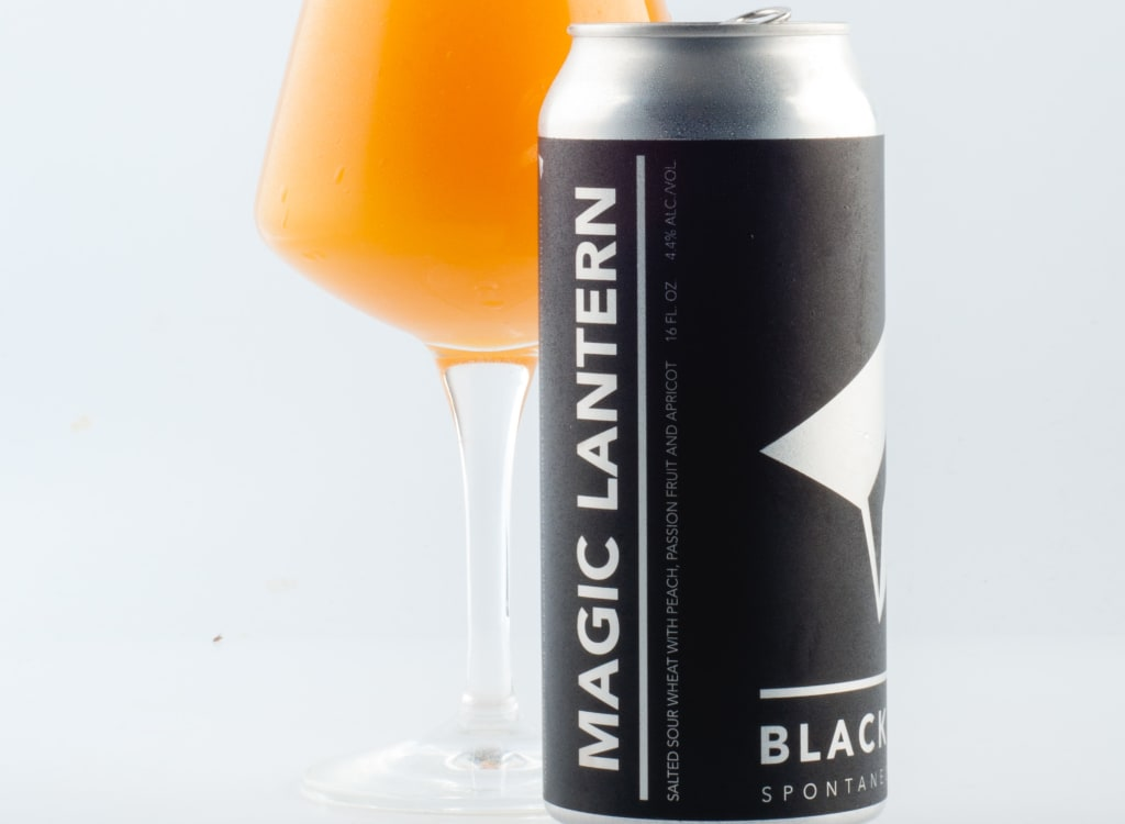 blackProjectSpontaneous&WildAles_mAGICLANTERN:Passionfruit-Peach-Apricot
