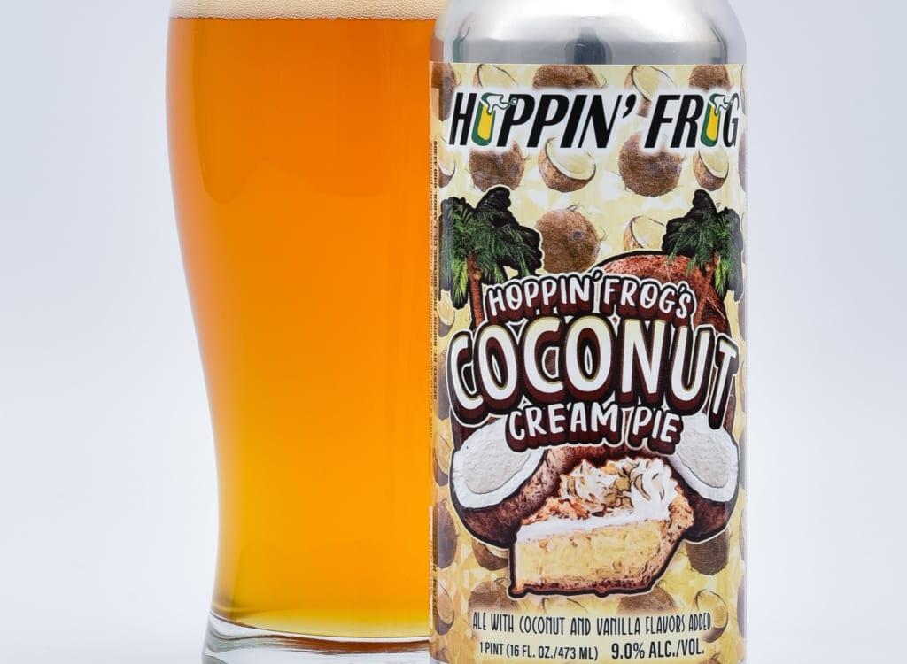 hoppin'FrogBrewery_hoppin'Frog'sCoconutCreamPie