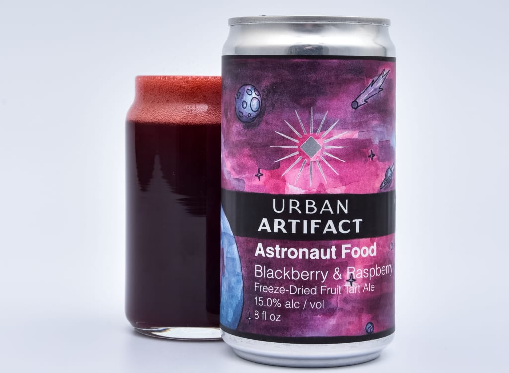 urbanArtifact_astronautFood-Blackberry::Raspberry
