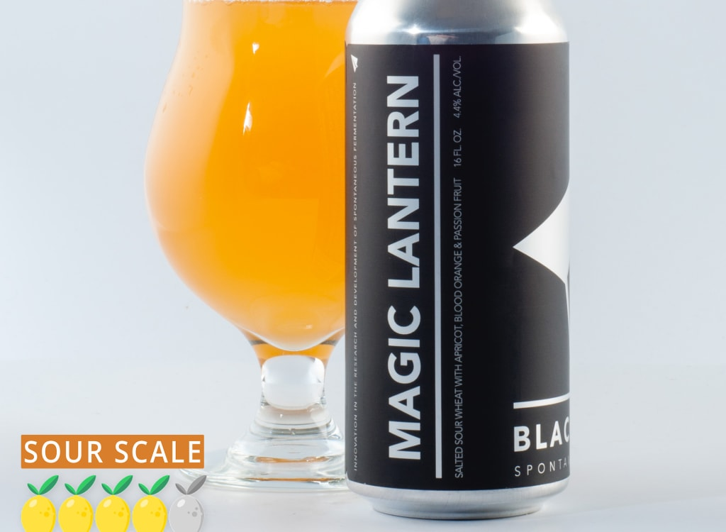 blackProjectSpontaneous&WildAles_magicLantern:Apricot,BloodOrange&PassionFruit