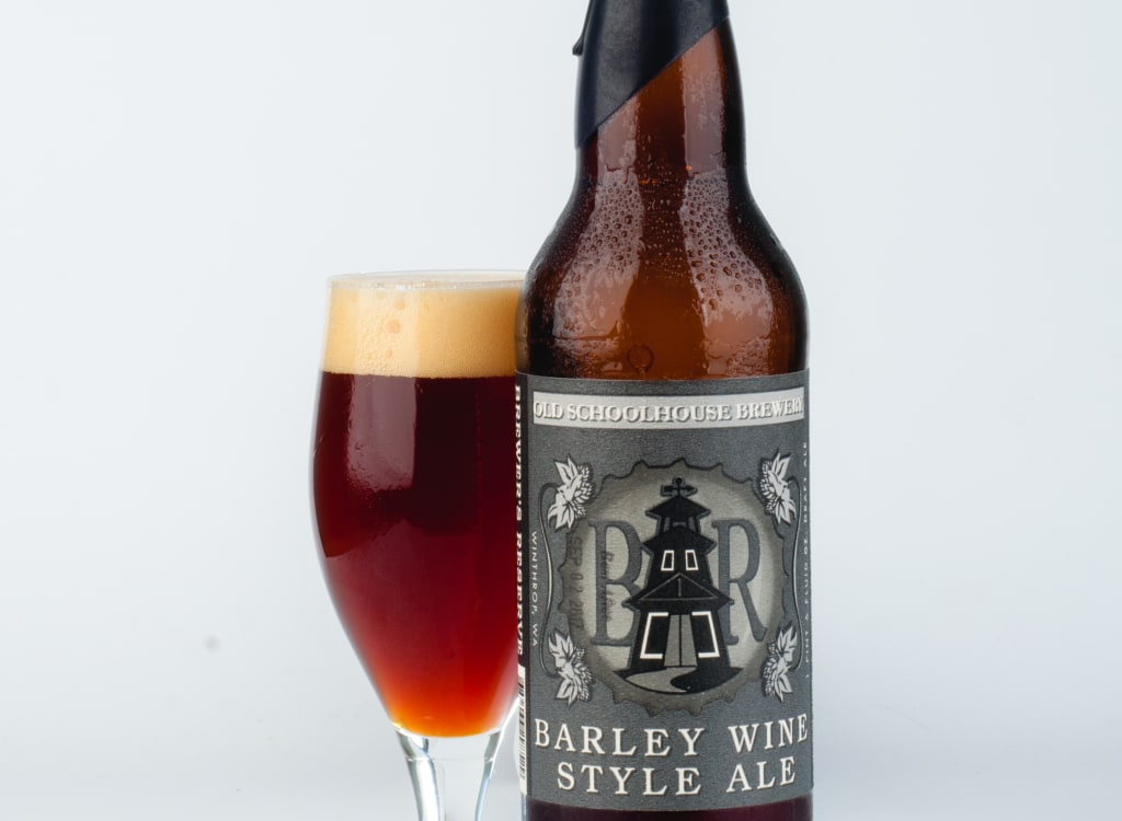 schoolhouseBrewery_barleywineStyleAle(Brewer'sReserve)(2012)