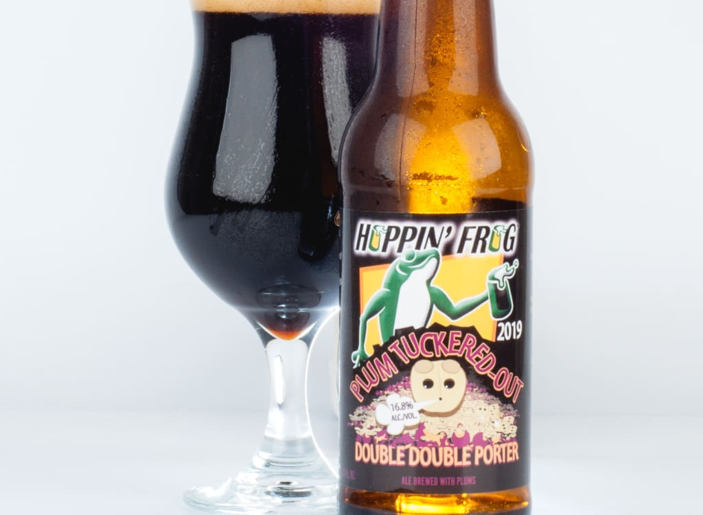 hoppin'FrogBrewery_plumTuckered-OutDoubleDoublePorter(2020)