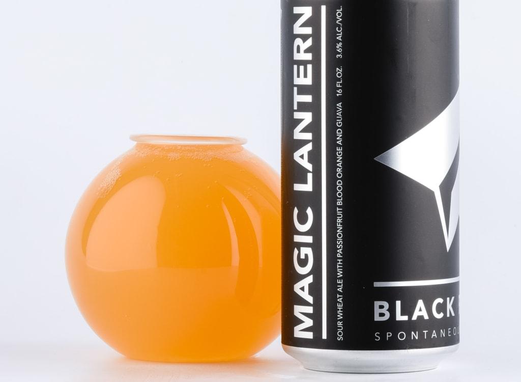 blackProjectSpontaneous&WildAles_mAGICLANTERN:Passionfruit,BloodOrange,Guava
