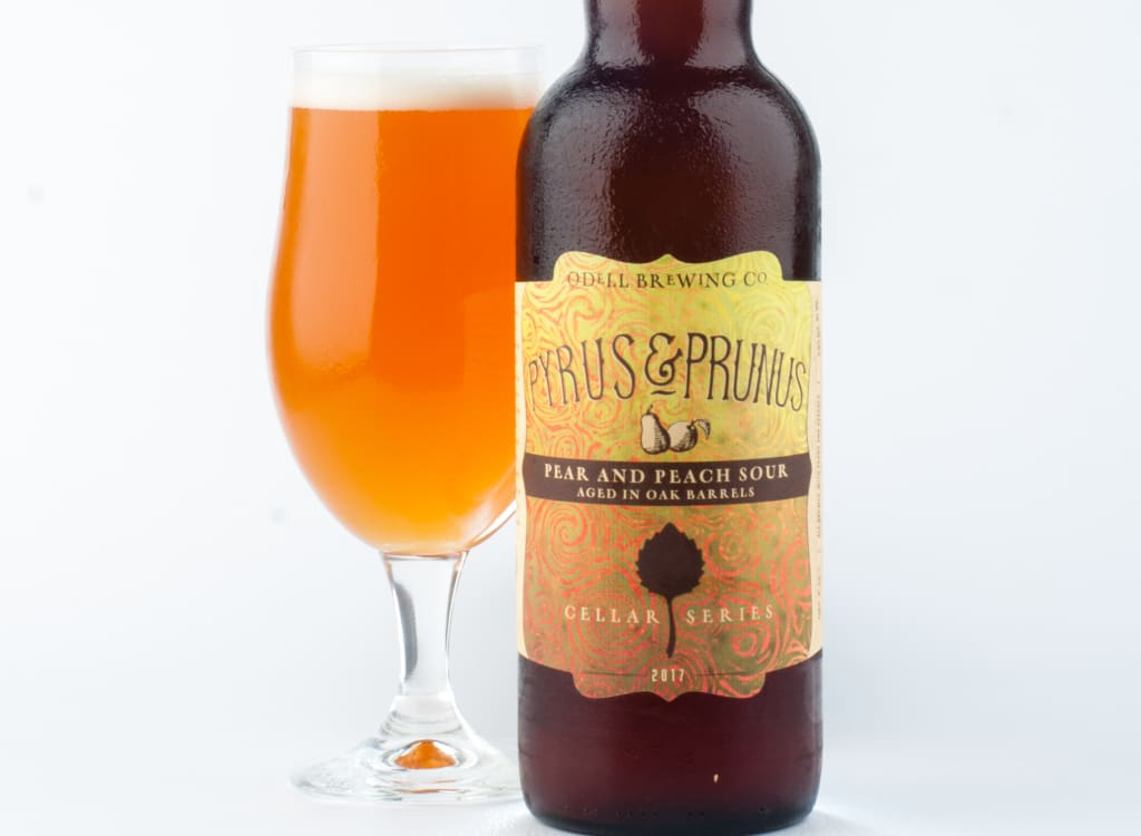 odellBrewingCompany_pyrus&Prunus(Peach::Pearsour)