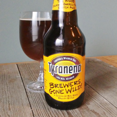 Tyranena Brewing Company - Shaggin' In The Wood Barrel Aged Scotch Ale
