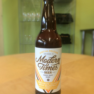 Modern Times Beer - Fortunate Islands with Grapefruit Zest