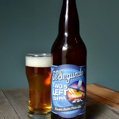El Segundo Brewing Company - Two-5 Left Double IPA