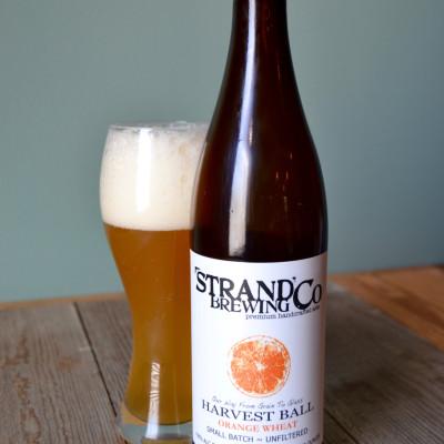 Strand Brewing Co - Harvest Ball Orange Wheat Ale