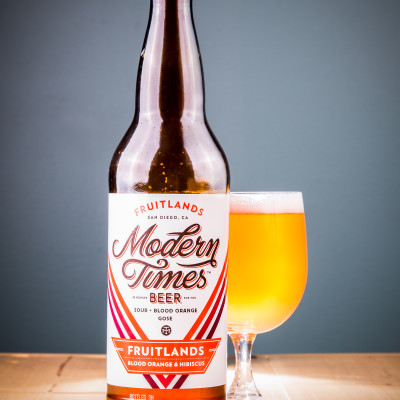 Modern Times Beer - Fruitlands with Blood Orange and Hibiscus
