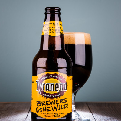 Tyranena Brewing Company - Dirty Old Man Barrel-Aged Imperial Rye Porter