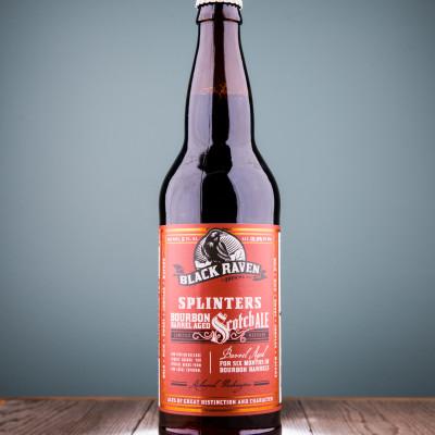 Black Raven - Splinters Bourbon Barrel Aged Scotch Ale (2016)