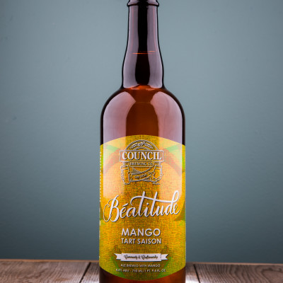 Council Brewing Co. - Beatitude Tart Saison: Mango