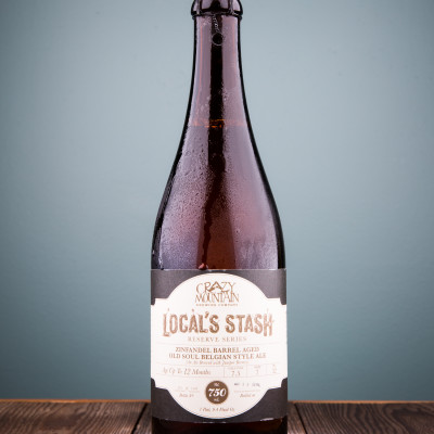Crazy Mountain Brewing Company  - Local's Stash Reserve Series:  Zinfandel Barrel Aged Old Soul