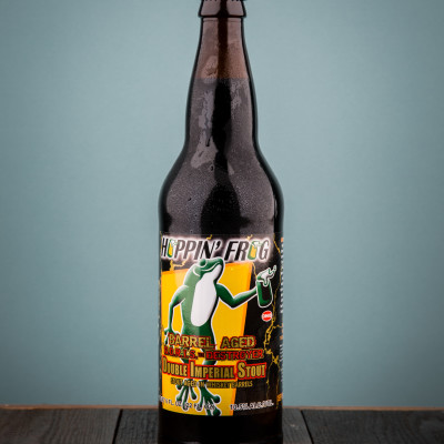 Hoppin' Frog Brewery  - Barrel Aged DORIS The Destroyer Double Oatmeal Imperial Stout