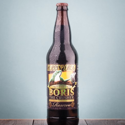Hoppin' Frog Brewery  - Whiskey Barrel-Aged B.O.R.I.S. Reserve Stout (April 2017)