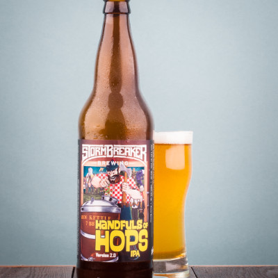 StormBreaker Brewing - Handfuls of Hops IPA V2