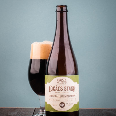 Crazy Mountain Brewing Company  - Local's Stash: Imperial Schwarzbier