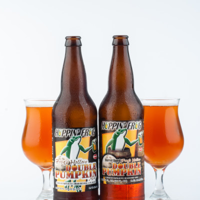Hoppin' Frog Brewery  - Barrel- Aged Frog's Hollow Double Pumpkin Ale