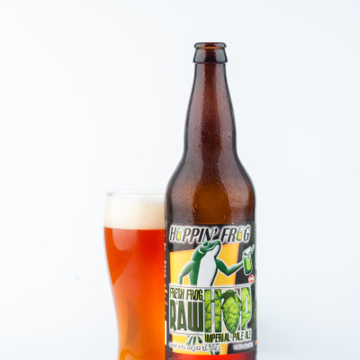 Hoppin' Frog Brewery  - Fresh Frog Raw Hop Imperial Pale Ale