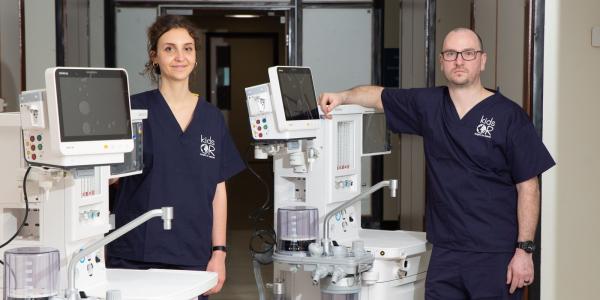 KidsOR donate equipment to NHS Scotland