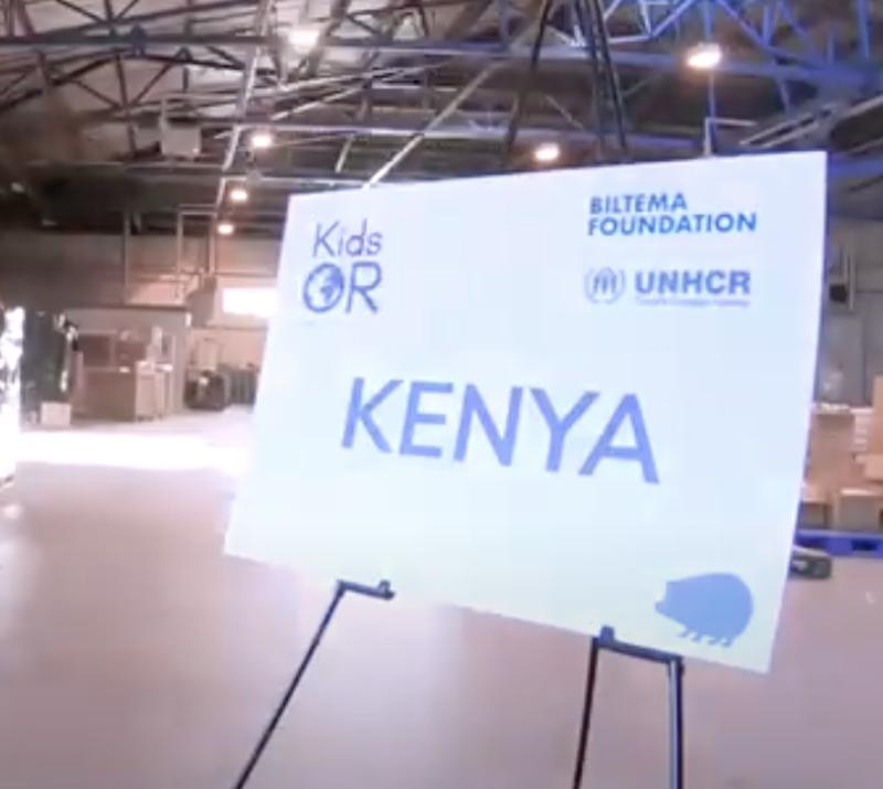 Biltema Foundation funds first KidsOR in refugee setting
