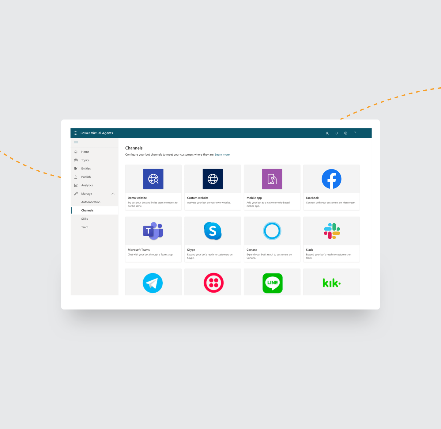 Integrate with a range of popular platforms