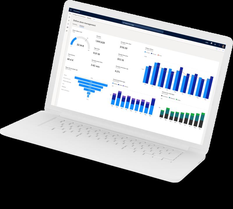Commerce laptop image