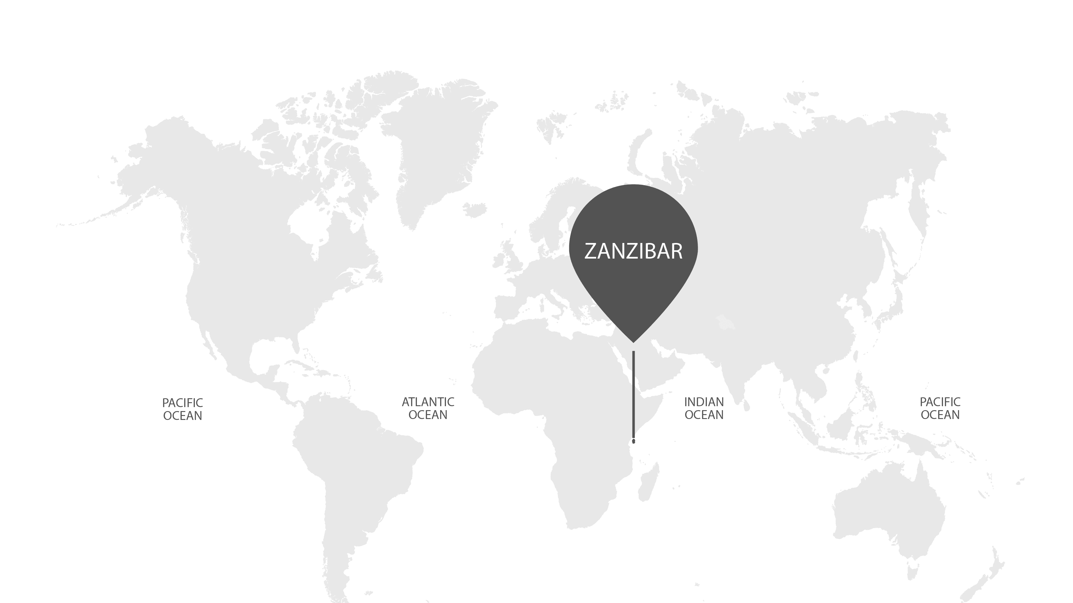 World map for zanzibar xu9piv