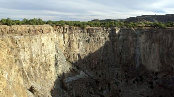 The jagersfontein big hole free state 2 xknlfj