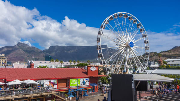Cape town south africa march 20 2016 the victoria and alfred waterfront district is a commercial and residential tourist area located in the table bay harbour sean heatley zclgkm